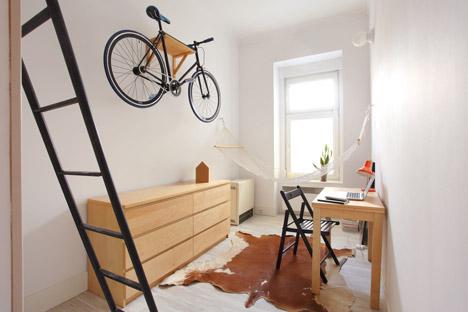 Обеденная зона в маленькой квартире