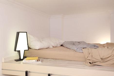 Гамак в интерьере маленькой квартиры