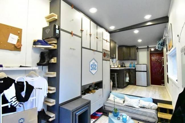 Дизайн интерьера маленького дома: фото. Отличный пример бережливого отношения к пространству
