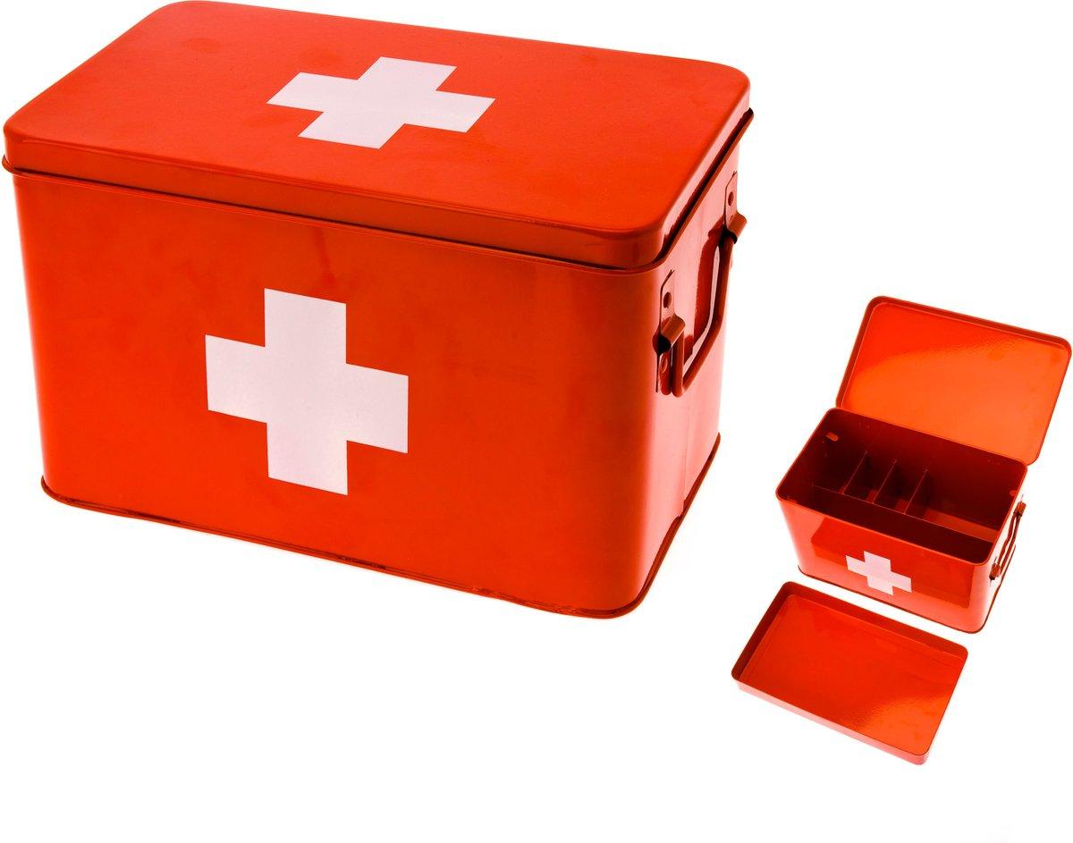 Стильный аптечный ящик с крестом