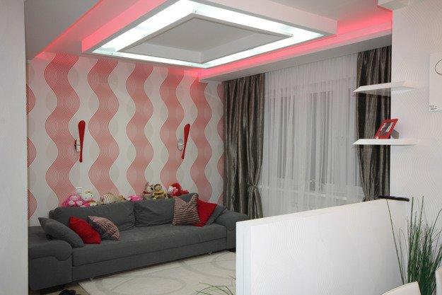 Дизайн однокомнатной квартиры для троих человек