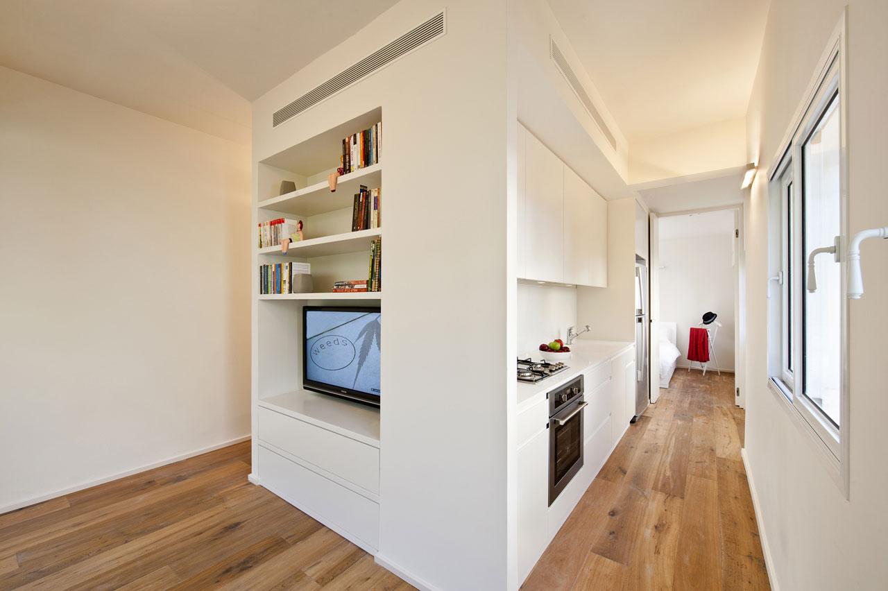 Интерьер небольшой квартиры-студии