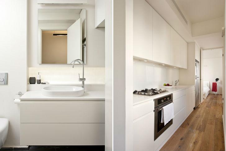 Кухня небольшой квартиры-студии