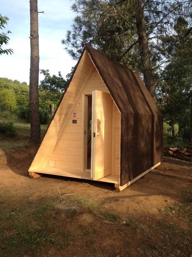 Дизайн проекта микро дома из дерева