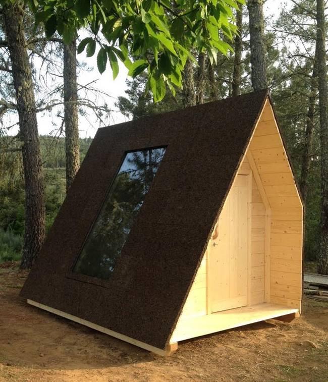 Проект микро дома из эко материалов
