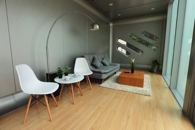 Фото сборного дома. Функциональный дизайн квартиры