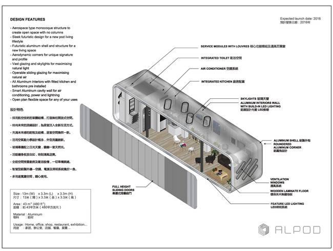 Фото сборного дома: план