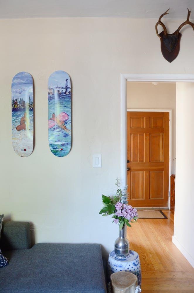 Природные мотивы в интерьере квартиры - фото 18