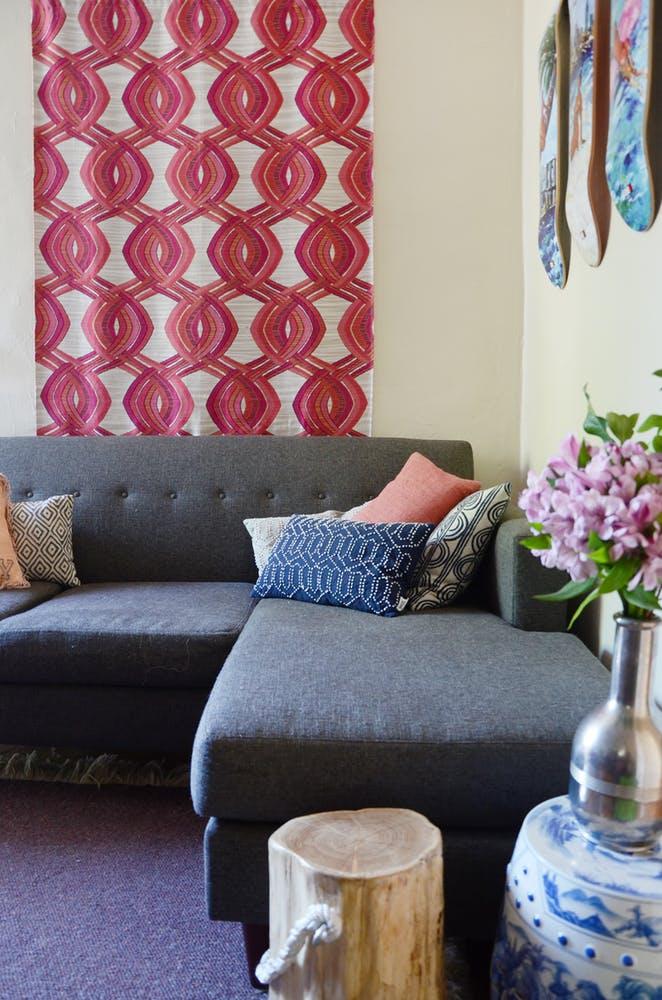 Природные мотивы в интерьере маленькой квартирки