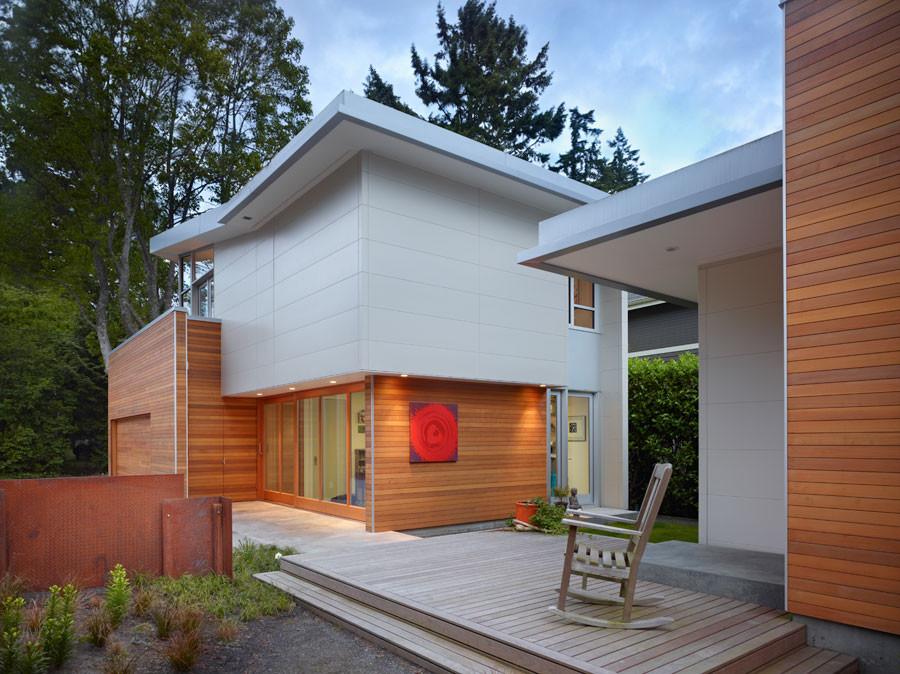 Загородные дома в одном стиле