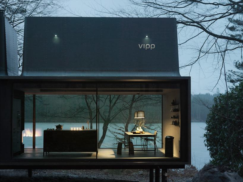 Маленький двухэтажный домик для отпуска Vipp Shelter