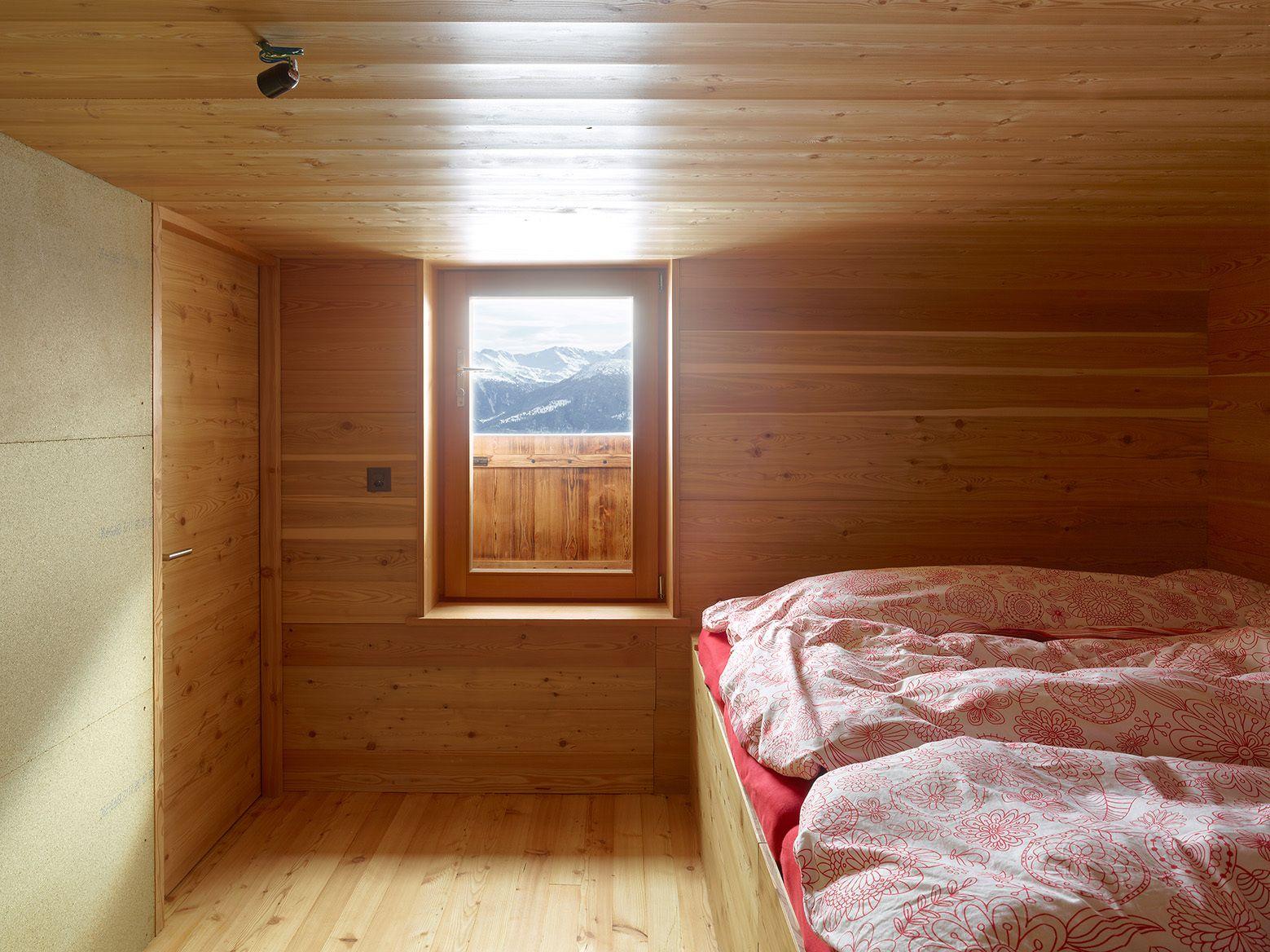 Спальня сарая 1878 года на холме