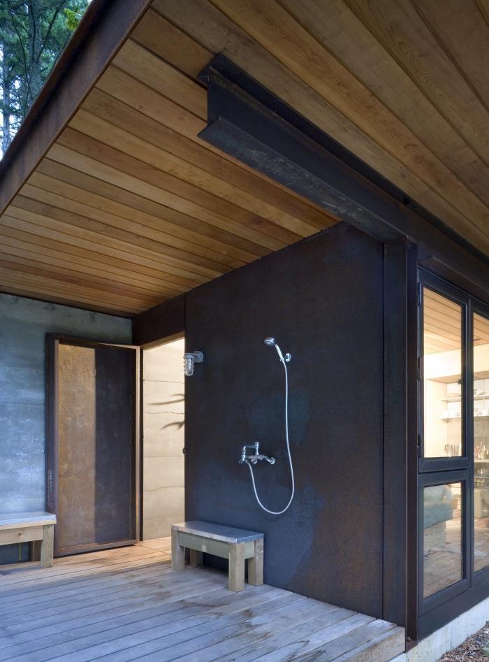 Душевая маленького домика вблизи Сиэтла