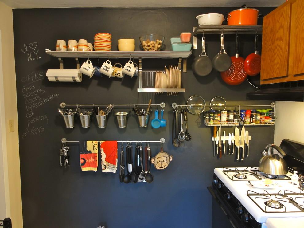 Система для хранения посуды на кухне