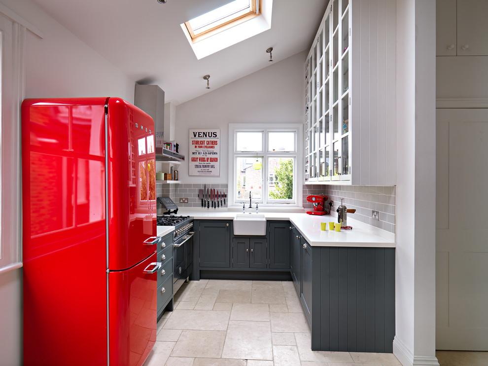 Потолочное окно на кухне