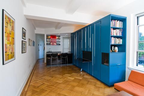 Проект маленькой квартиры в Нью-Йорке