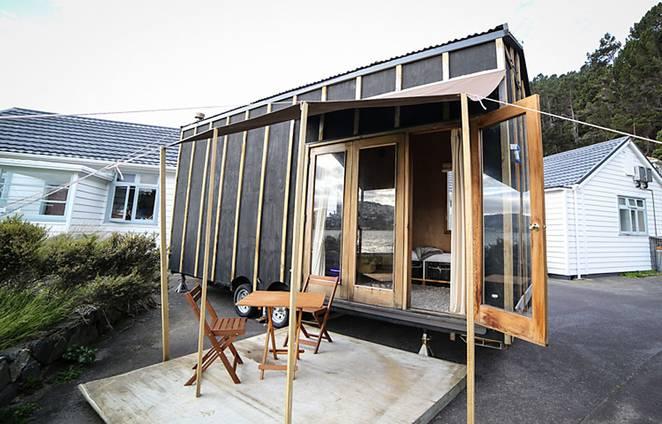 Проект очень маленького дома на колесах