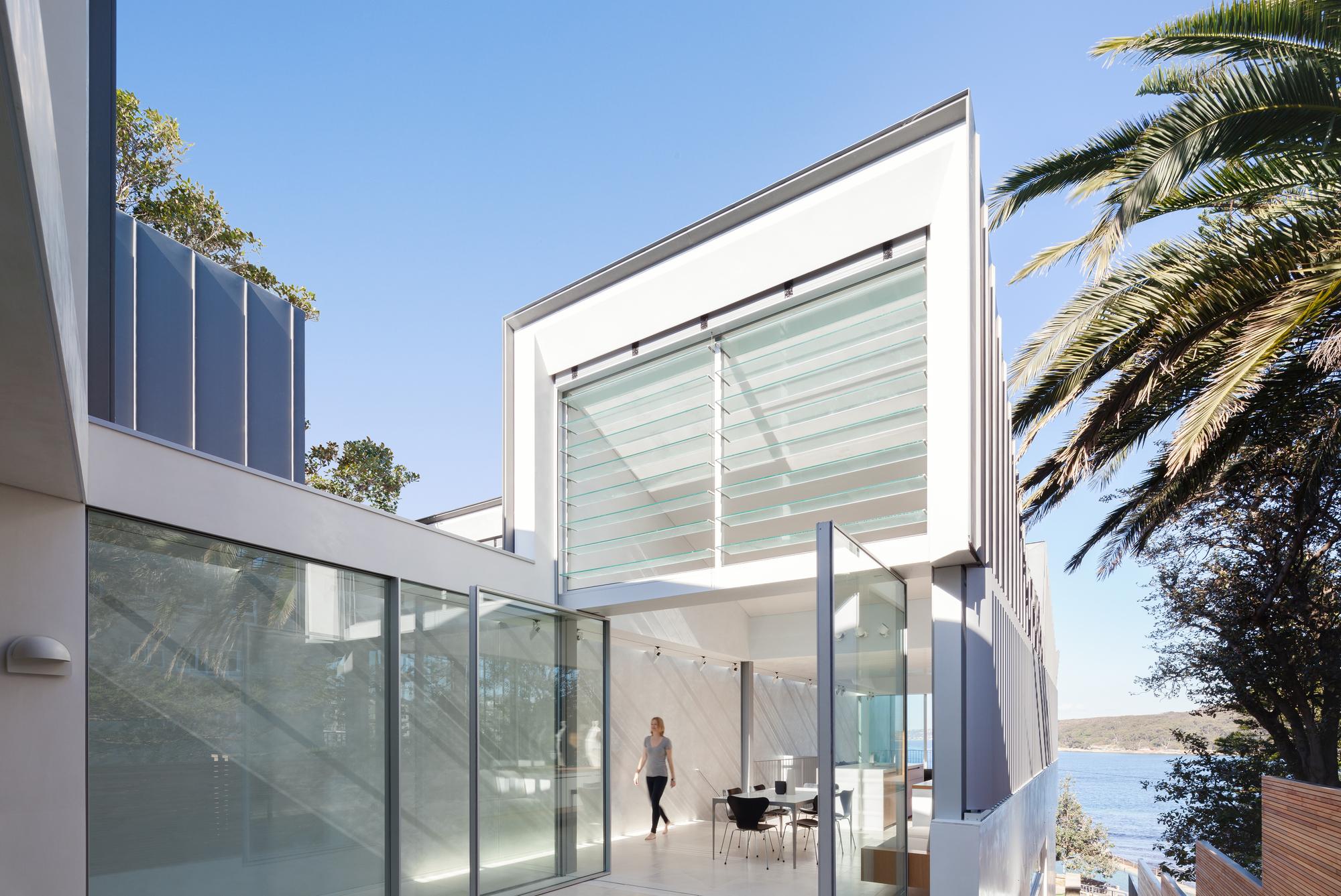 Проект узкого двухэтажного дома в Австралии