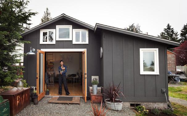 Полноценное жильё в гараже
