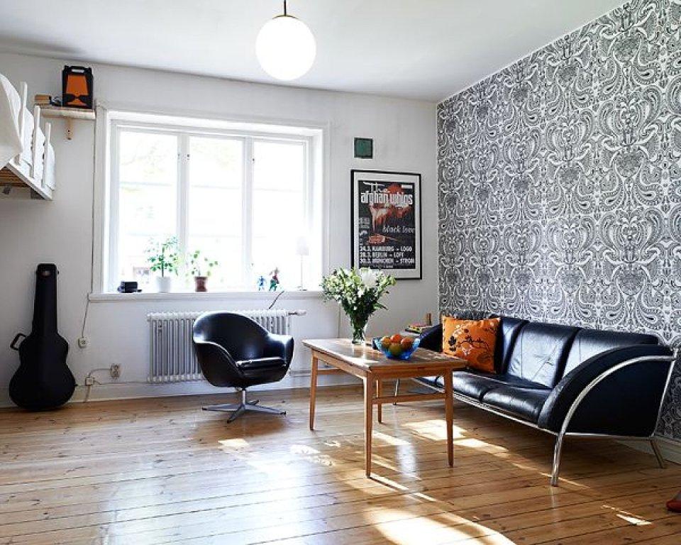 Дизайн маленькой однокомнатной квартиры с детской