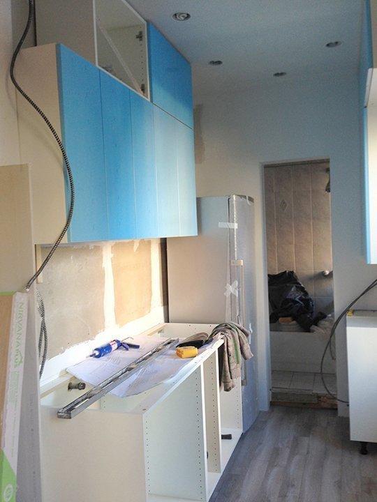 Ремонтные работы на кухне