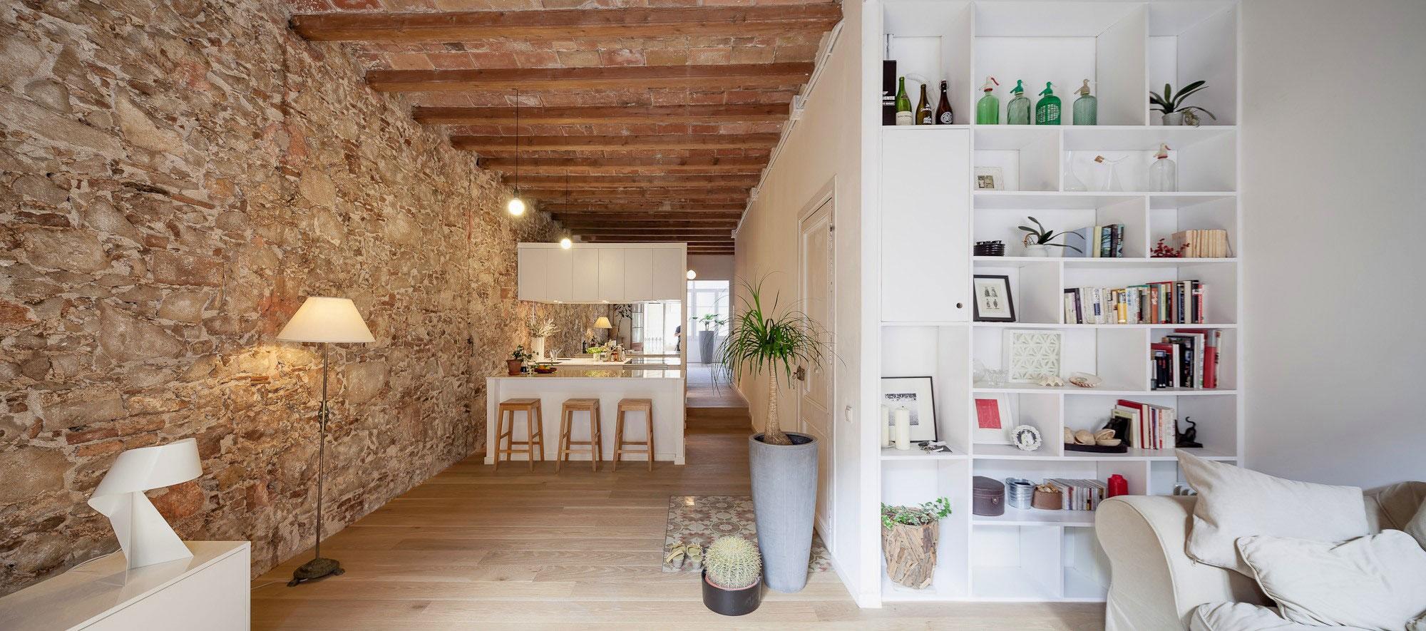 Интерьер квартиры в Барселоне
