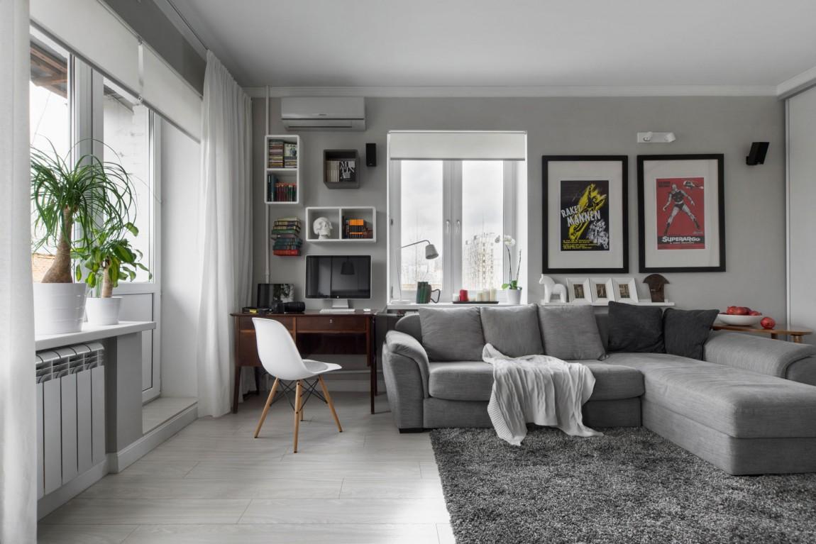 Уютная квартира для холостяка в Москве