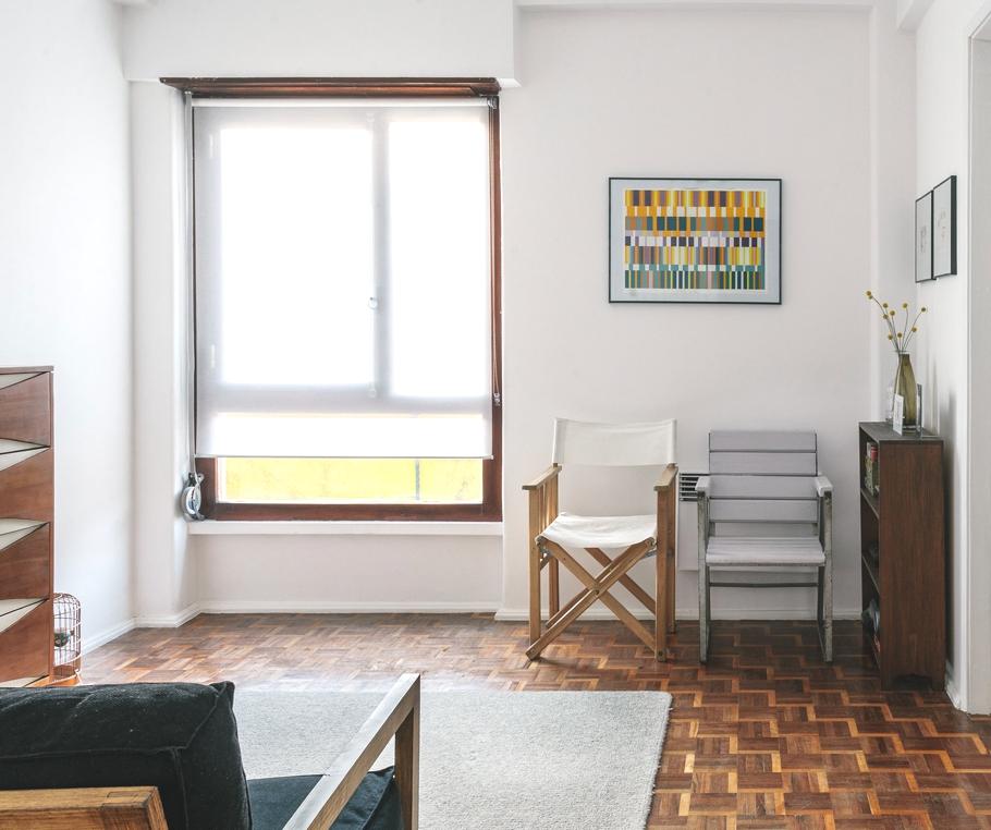 Гостиная шикарных апартаментов в Лиссабоне