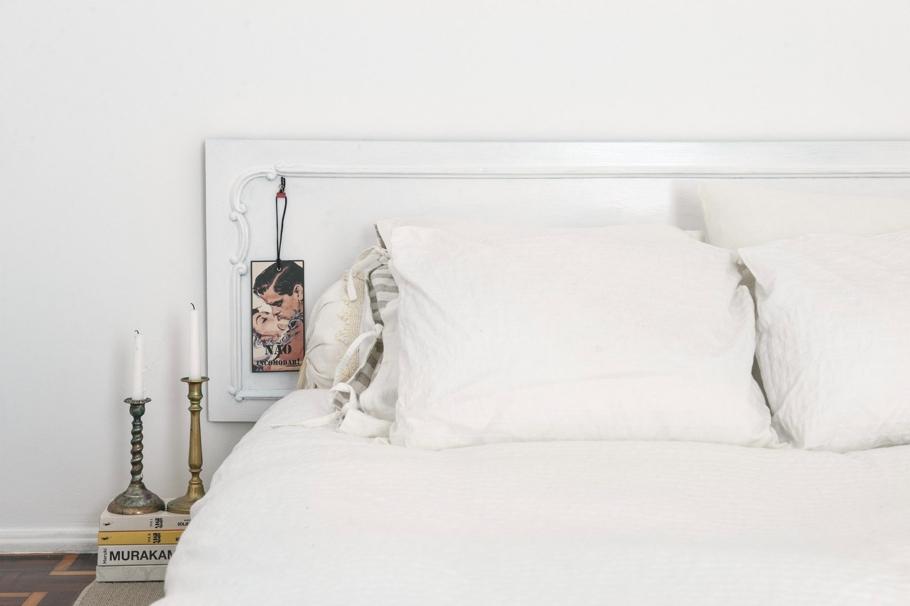 Спальня шикарных апартаментов в Лиссабоне
