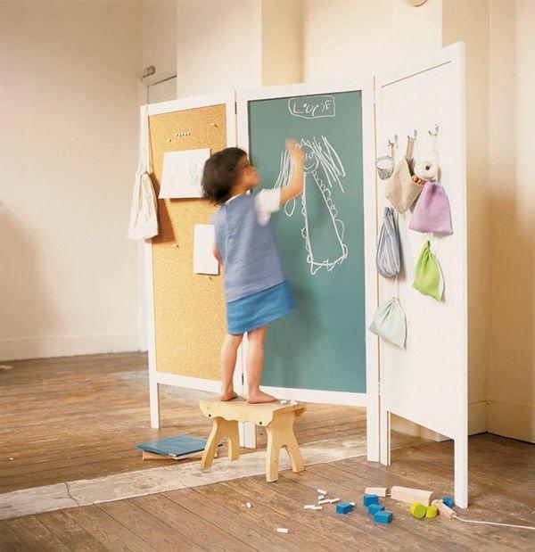 Ширма в дизайне интерьера детской