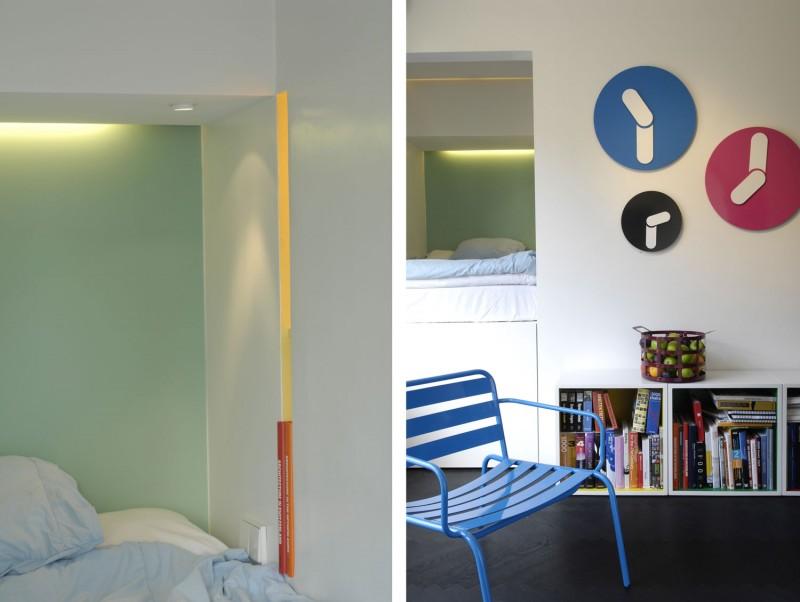 Дизайн интерьера маленькой квартиры в Швеции