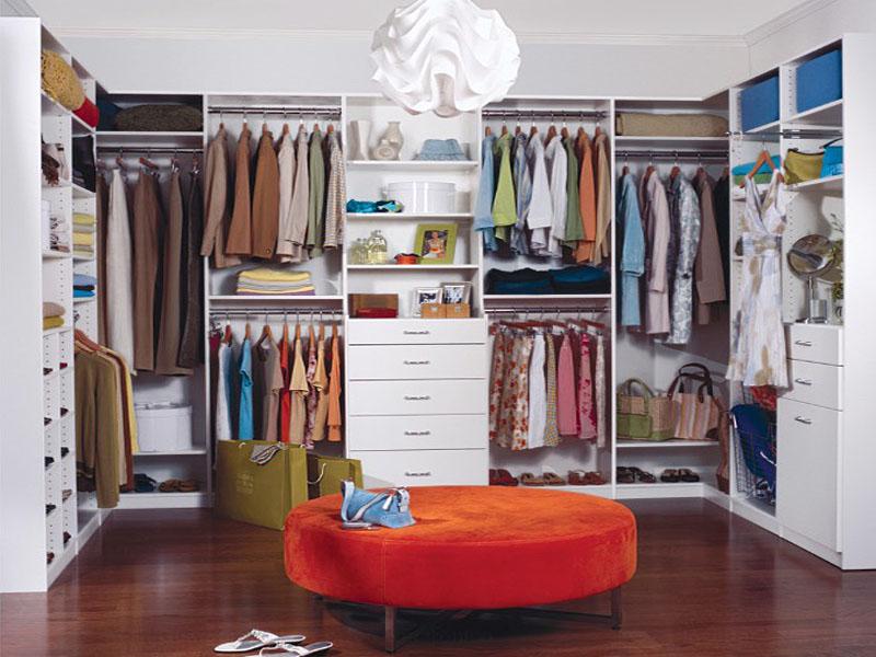 Уютная система хранения одежды