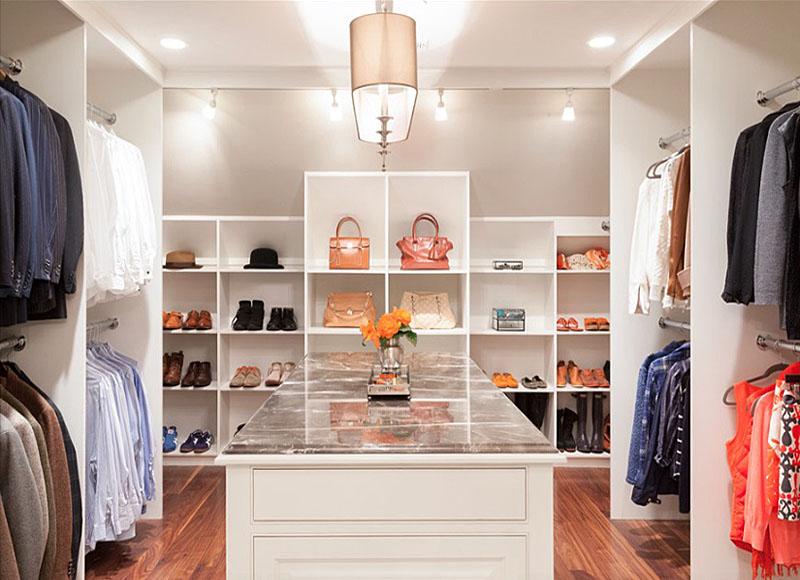 Современная система хранения одежды