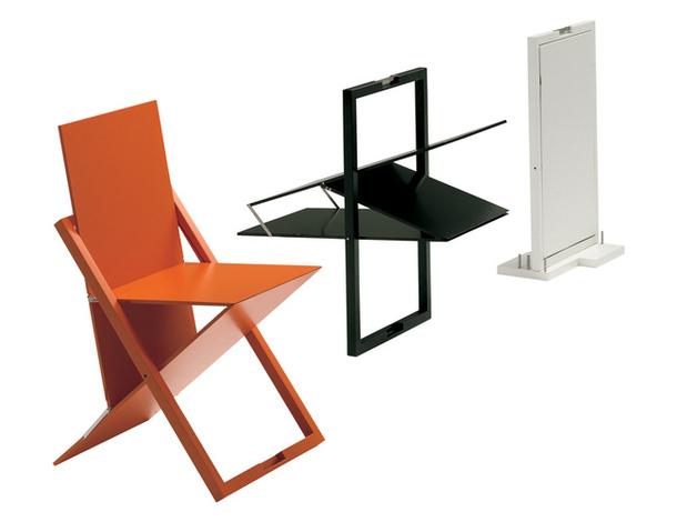 Разноцветные складные стулья Isis