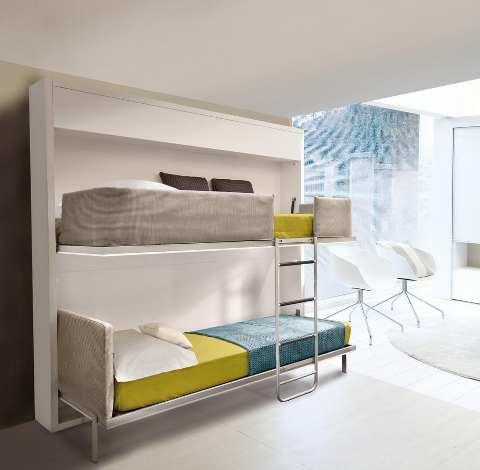 Раскладная двухъярусная кровать