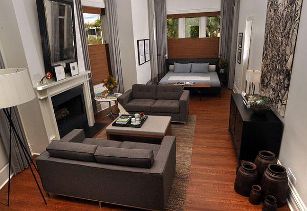Современный дизайн маленькой квартиры
