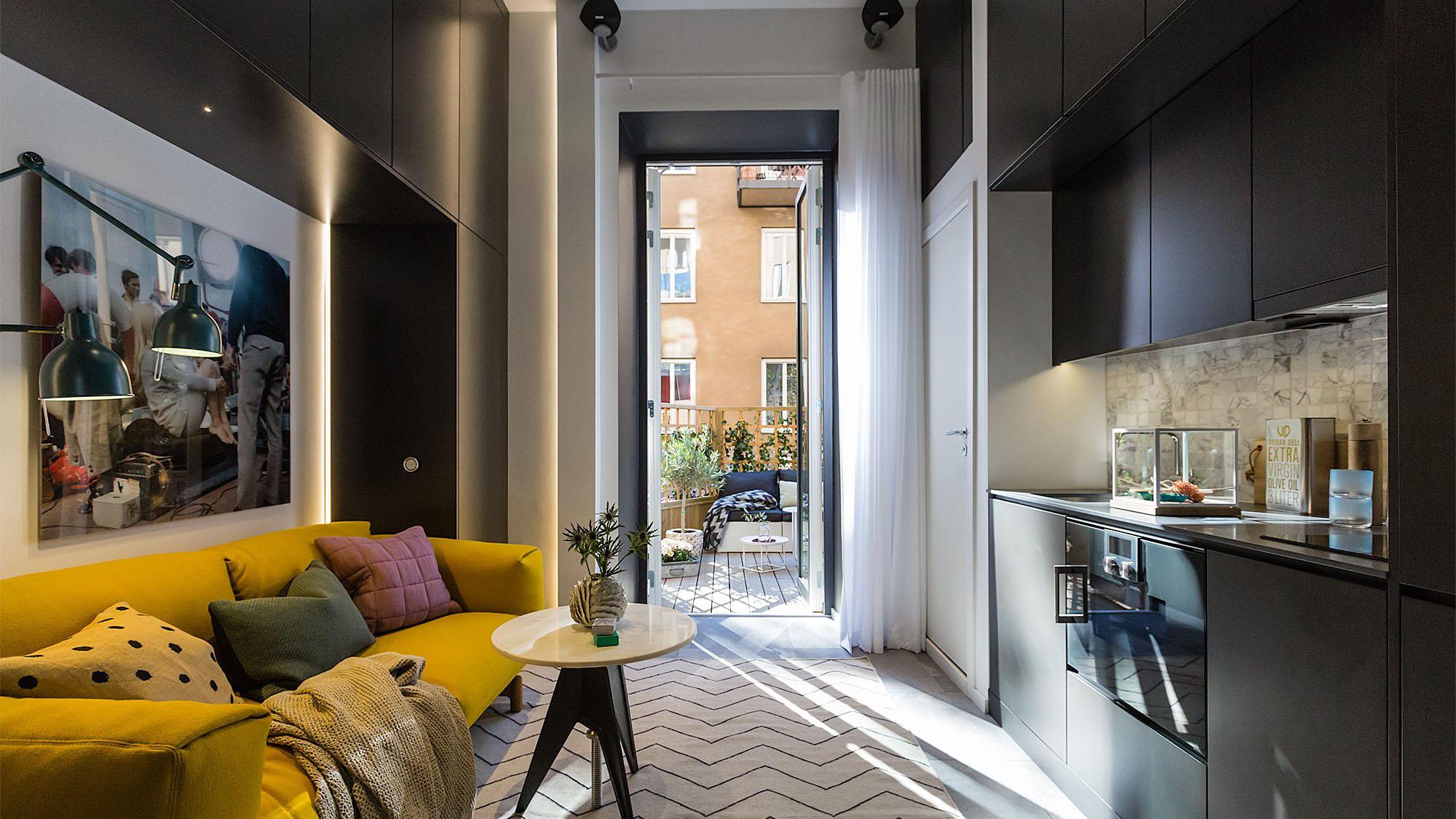 Красивые квартиры фото интерьеров маленьких