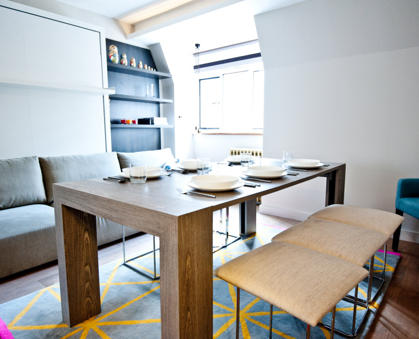 Мягкая мебель в столовой