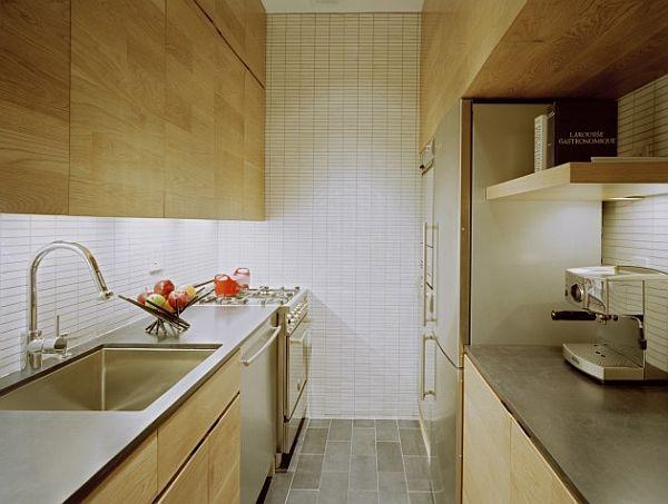 Идея дизайна небольшой кухни
