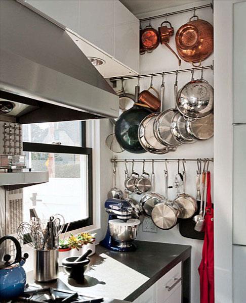 Подвесные крепления для габаритной посуды