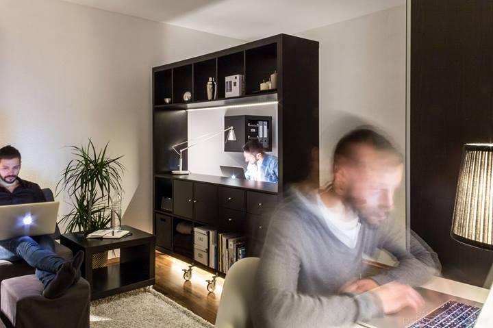 Небольшая функциональная квартира-студия