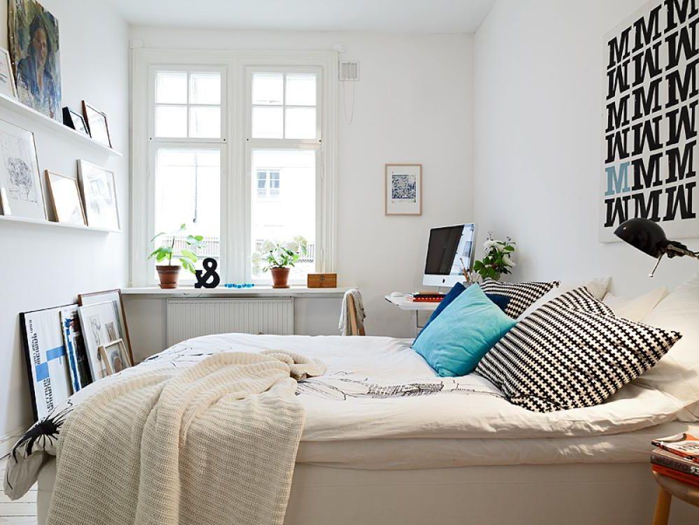 Дизайн интерьера маленькой спальни, фото 3