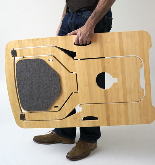Складной стул для малых помещений
