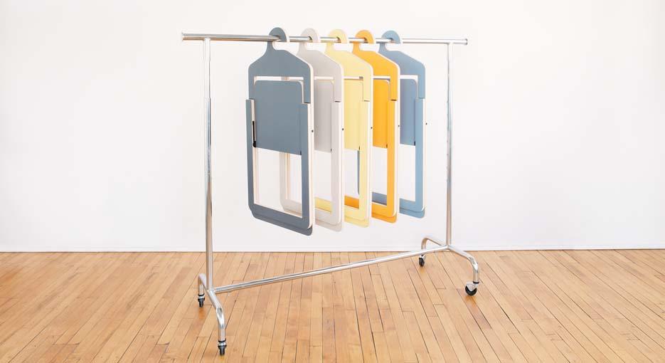 Дизайнерская вешалка для малых помещений