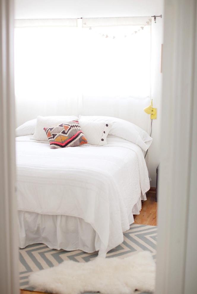 Маленькая спальня в белом цвете