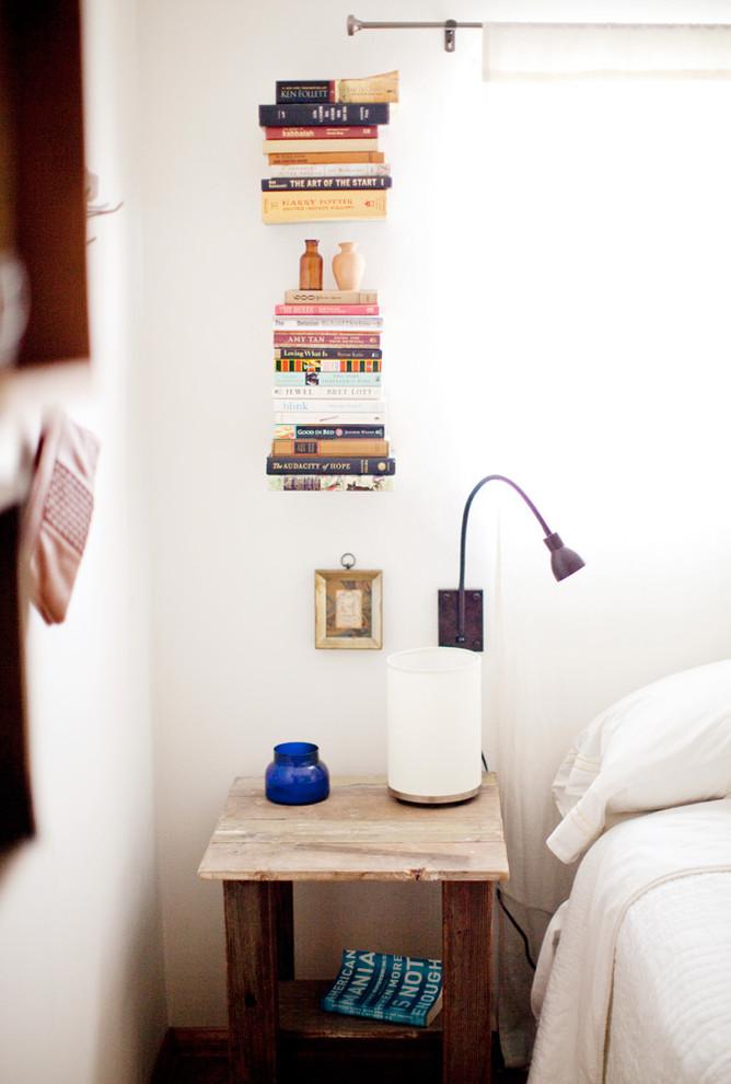 Держатели для книг в спальне