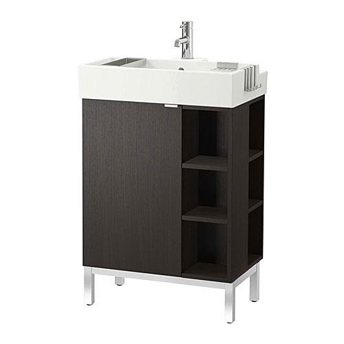 Туалетный столик Lillangen в дизайне маленькой ванной
