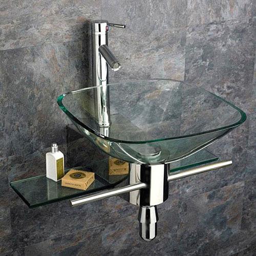 Туалетный столик Kokols в дизайне маленькой ванной