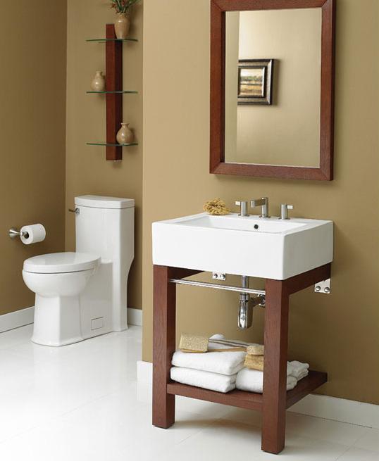 Туалетный столик DecoLav's Infusion в дизайне маленькой ванной