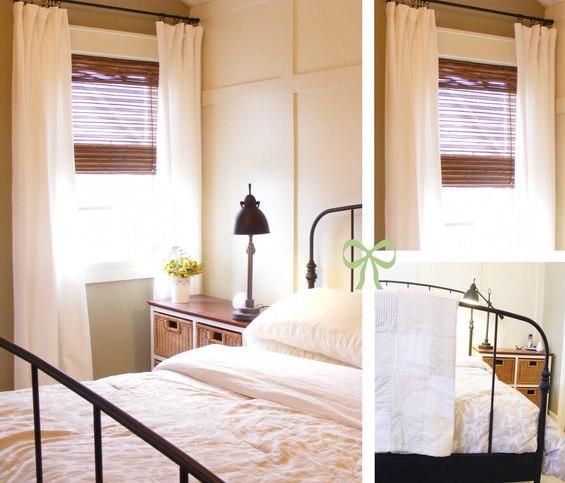 Оформление спальни в одном цвете